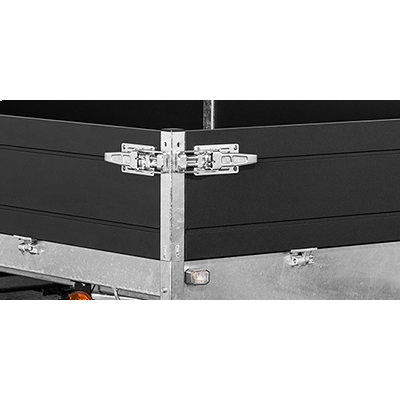 Alumiiniset laidat 35 cm 406 204 Black